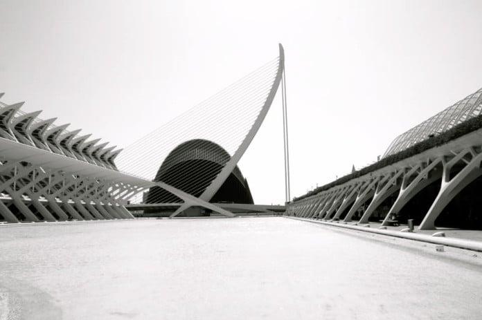 The City of Future Calatrava in Valencia Spaign