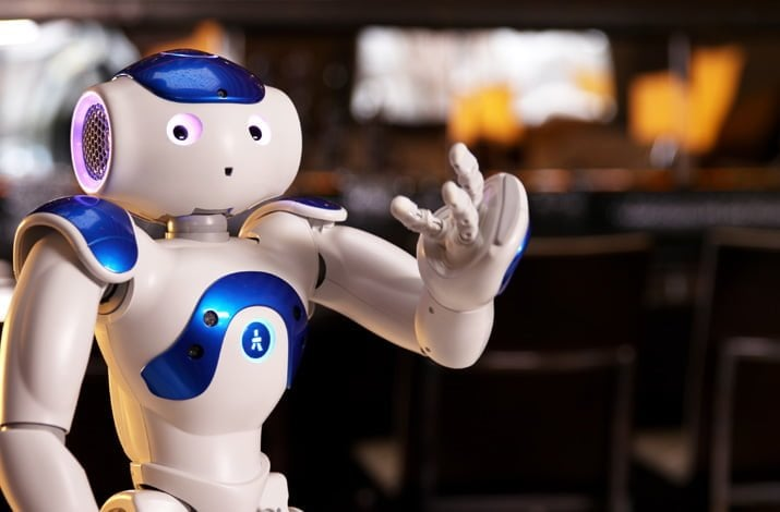 Connie by Hilton A Concierge Robot made by IBM