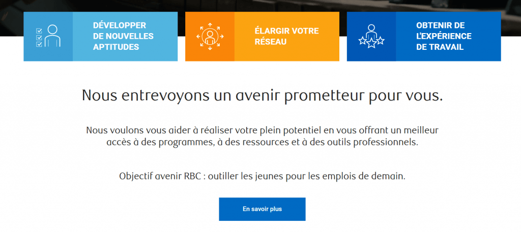 Emplois Objectif Avenir_Banque RBC_FutursTalents_2019